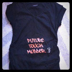 """Future Tough Mudder"" Maternity T-shirt - Size Med"